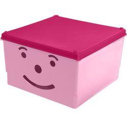 Branq Pojemnik smiley box 15 l. [różowy]