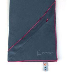 m szybkoschnący ręcznik treningowy z kieszonką - ciemnoszary marki Dr.bacty