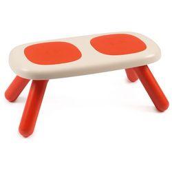 ławka dziecięca czerwona marki Smoby