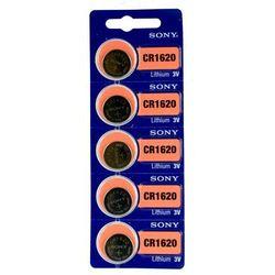 5 x bateria litowa mini Sony CR1620 z kategorii Baterie