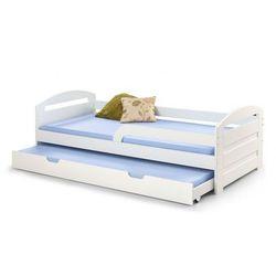 Białe łóżko rozsuwane 2-osobowe sistel marki Elior.pl
