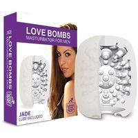 Podręczny masturbator z lubrykantem - Love in the Pocket Love Bombs Jade