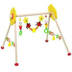 Zabawka edukacyjna dla niemowlaka, kwiatki i owady marki Heimess