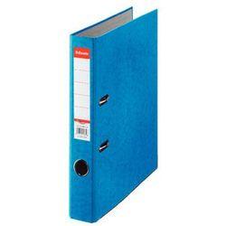Esselte segregator a4 rainbow z mechanizmem dźwigniowym 50mm, niebieski
