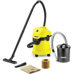 Odkurzacz uniwersalny KARCHER WD 3 z zestawem do czyszczenia kominka z kategorii pozostałe narzędzia elektryczne