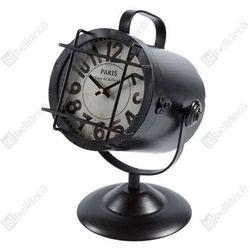 Zegar stojący loft c1120a0bbu reflektor czarny marki Belldeco