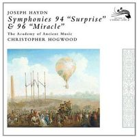 Haydn: Symphonies 94 Surprise & 96 Miracle (CD) - The Academy of Ancient Music