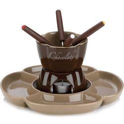 Kela Ceramiczny zestaw do fondue czekoladowego fiore 0,25 litra (ke-12423) (4025457124235)