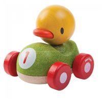 Plan toys Drewniana wyścigówka kaczka