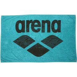 pool soft ręcznik, turkusowy/czarny 2021 ręczniki i szlafroki sportowe marki Arena