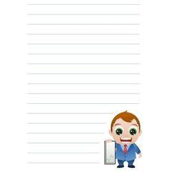 Tablica suchościeralna notatnik 028 marki Wally - piękno dekoracji