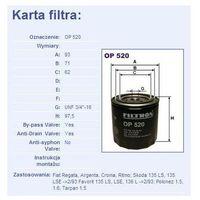 Filtr oleju op 520, marki Filtron