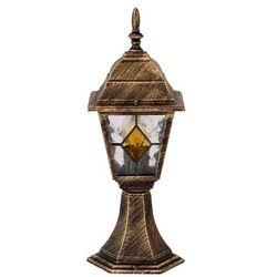 Zewnętrzna LAMPA stojąca MONACO 8183  IP43 OPRAWA SŁUPEK outdoor złoto antyczne, Rabalux z =MLAMP.pl= | Rozświetlamy Wnętrza