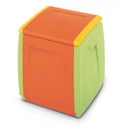 Terry Dwukolorowe pudło skrzynia na zabawki box 55 kids (8005646013201)