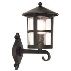 Elstead Zewnętrzna lampa ścienna hereford bl22/g  kinkiet metalowa oprawa ogrodowa ip43 outdoor czarny, kategoria: lampy ogrodowe