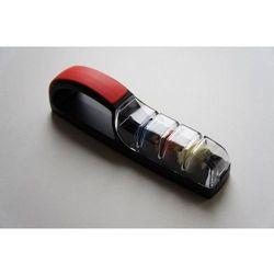 Ceramiczna ostrzałka wodna Plus 3 czarno-czerwona Global, 550/BR