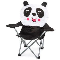 Dziecięce krzesełko składane Hatu, panda, 57 x 60 x 32 cm (8719987246401)