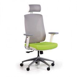 Krzesło biurowe z siatkowanym oparciem ENVY, zielone