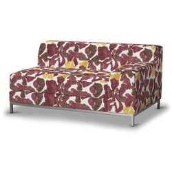 pokrowiec na sofę prawostronną kramfors 2-osobową, żółto-brązowe kwiaty, sofa kramfors, wyprzedaż do -30% marki Dekoria