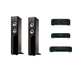 ONKYO A-9030 + C-7030 + T-4030 + BOSTON ACOUSTICS A250 - wieża, zestaw hif, towar z kategorii: Zestawy Hi-Fi