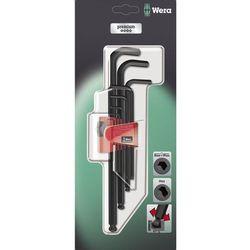 Zestaw kluczy imbusowych 9 szt. 950 pkl/9 bm sb sis wewnętrzny sześciokąt  05073596001, marki Wera