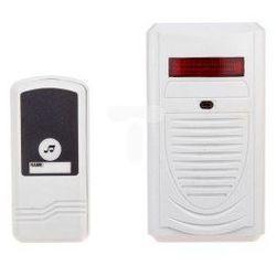 Dzwonek bezprzewodowy 230V IP44 ELMA 98080 biały 00506