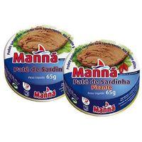 Manná Zestaw 1 portugalska pasta z sardynek 6x65g