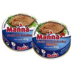 zestaw 1 portugalska pasta z sardynek 6x65g od producenta Manná