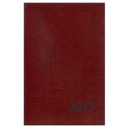 Kalendarz dzienny AGENDA B5 LUX z kratką brązowy 2017