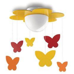 Lampa sufitowa Philips 400963416, MERIA, 1X15W, Żółty, 400963416