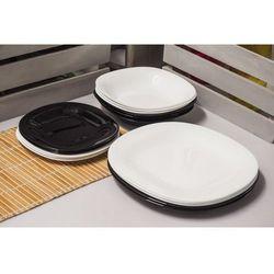 Luminarc / carine Luminarc carine black&white serwis obiadowy 18/6
