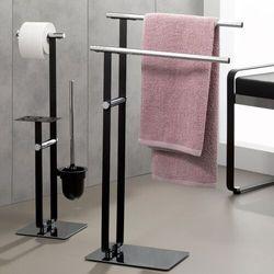 Kela Stojak na szczotkę do wc, papier toaletowy i półka na smartfon sirius (ke-24301) (4025457243011)