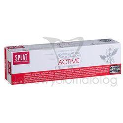Splat Active 100ml - Pielęgnująca dziąsła wybielająca  z ekstraktem z ziół wzbogacona witaminami A+E z