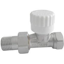 Zawór termostatyczny prosty 1/2'' z nastawą wstępną, towar z kategorii: Zawory i głowice