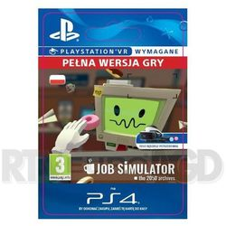 Job Simulator, gra na konsolę PlayStation4