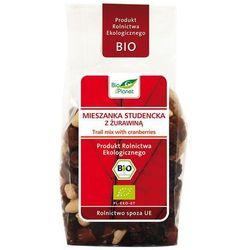 : mieszanka studencka z żurawiną bio - 150 g wyprodukowany przez Bio planet