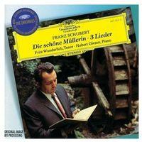 Schubert: Die Schone Mullerin, 3 Lieder (CD) - Hubert Giesen, Fritz Wunderlich
