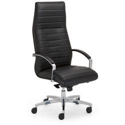 Fotel gabinetowy lynx steel43 chrome marki Nowy styl