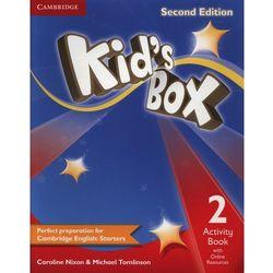 Kid's Box 2 Second Edition. Ćwiczenia z Dostępem do Ćwiczeń Online, pozycja wydana w roku: 2014