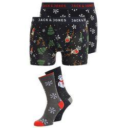 Jack & Jones JACCHRISTMAS SET Panty navy blazer snowflake/snowman