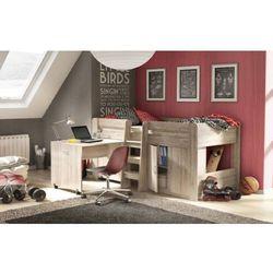 Fm bravo Funky łóżko kombi z biurkiem i szafką