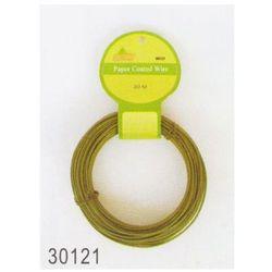 Drut w papierowej otulinie zielony 50m (30121)