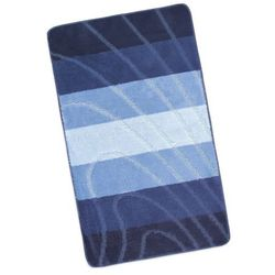 dywanik łazienkowych elli niebieska fala, 60 x 100 cm marki Bellatex