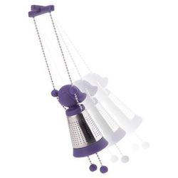 Zaparzacz do herbaty marionette fiolet - d2 design - zapytaj o rabat! marki D2.design