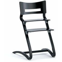 Wysokie krzesło dziecięce LEANDER CLASSIC, czarny
