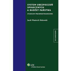 System ubezpieczeń społecznych a budżet państwa. Studium prawnofinansowe [PRZEDSPRZEDAŻ], pozycja wydana