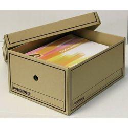 pudło archiwizacyjne a4 350x255x155mm biały, 10 sztukac marki Pressel