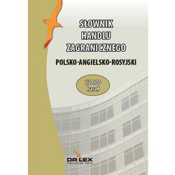 Polsko-angielsko-rosyjski słownik handlu zagranicznego, rok wydania (2015)