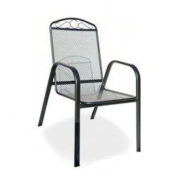Metalowy fotel ogrodowy ZWMC-31