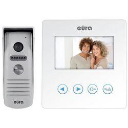 Wideodomofon eura vdp-16a3 syriusz biały kolor 4,3 marki Eura-tech